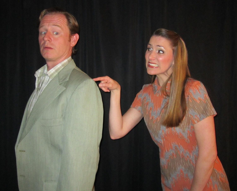 "Back stage antics with tenor Ryan MacPherson at Alpine Theatre Company's ""Master Class"""