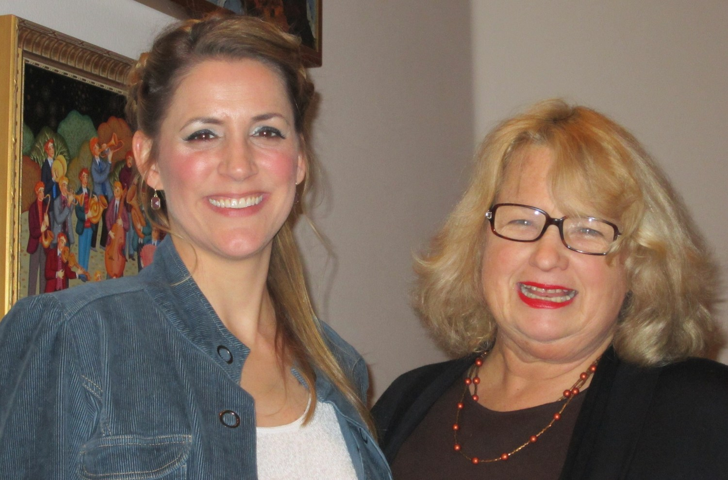 With Anchorage Opera supporter and all around great gal, Nan Tomasko