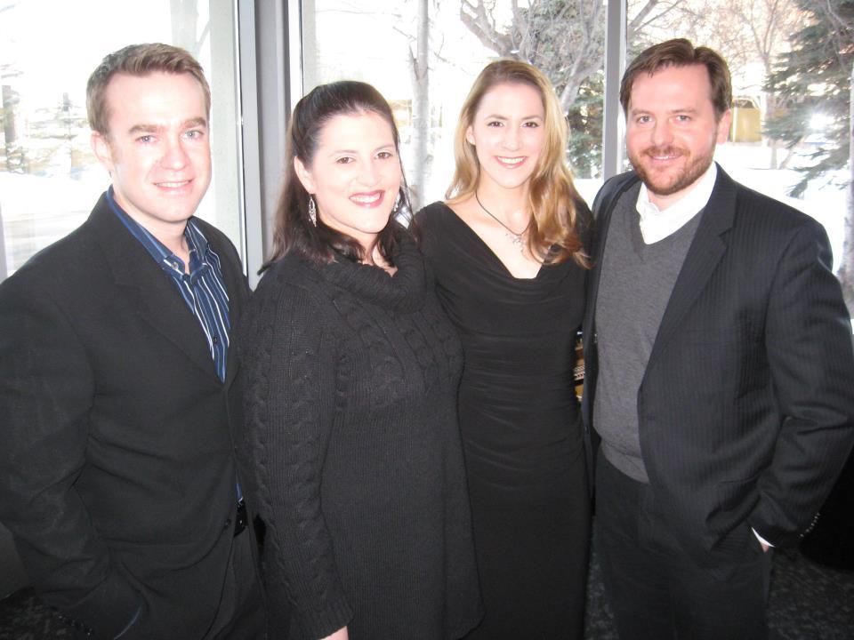 "Anchorage Opera's ""Sound of Music"" cast"