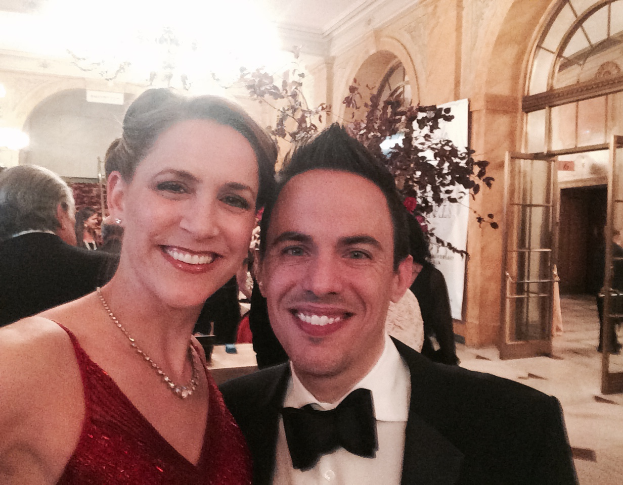 With Michael Shell at the Opera Phila Gala