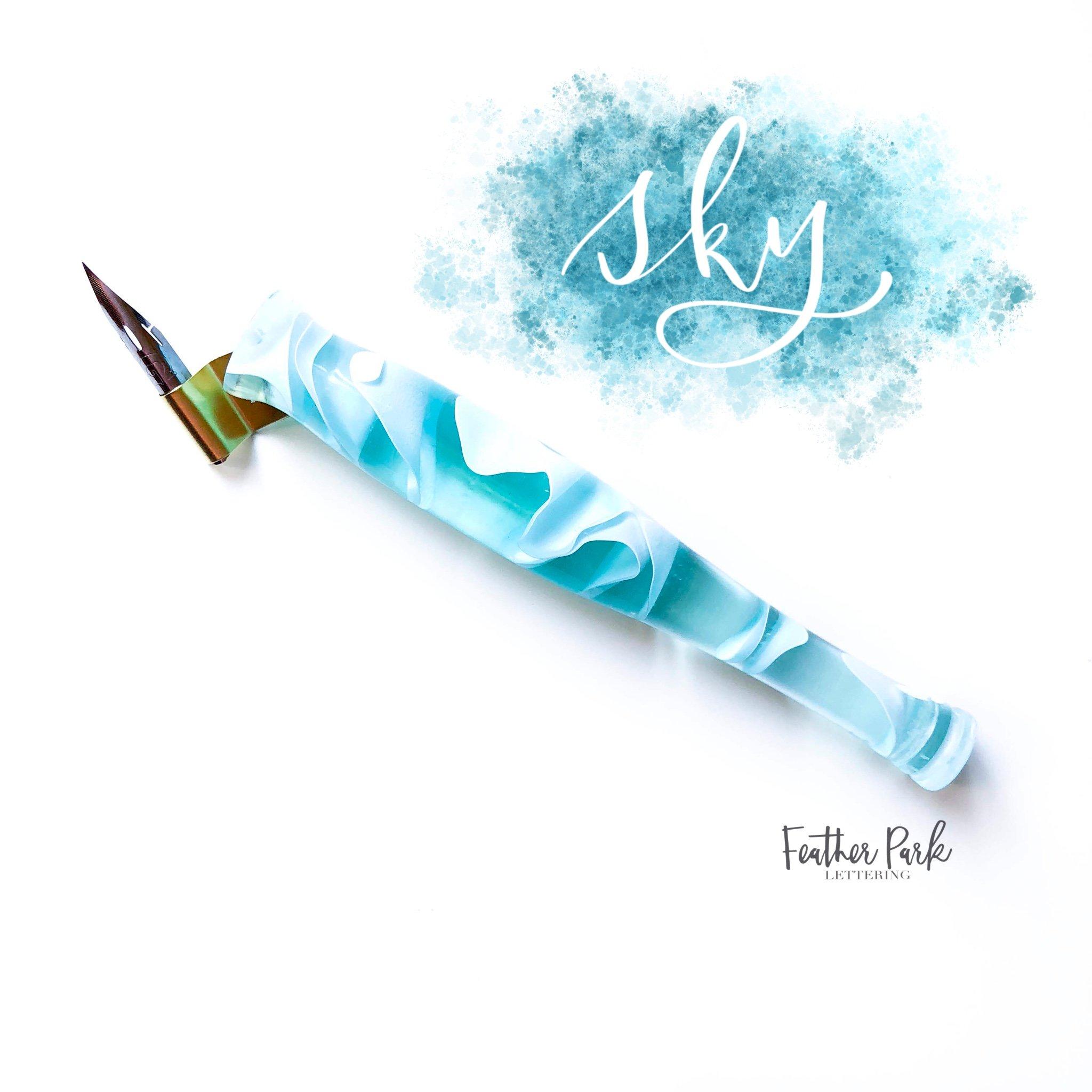 Elemental Oblique Pen Feather Park Lettering.jpg