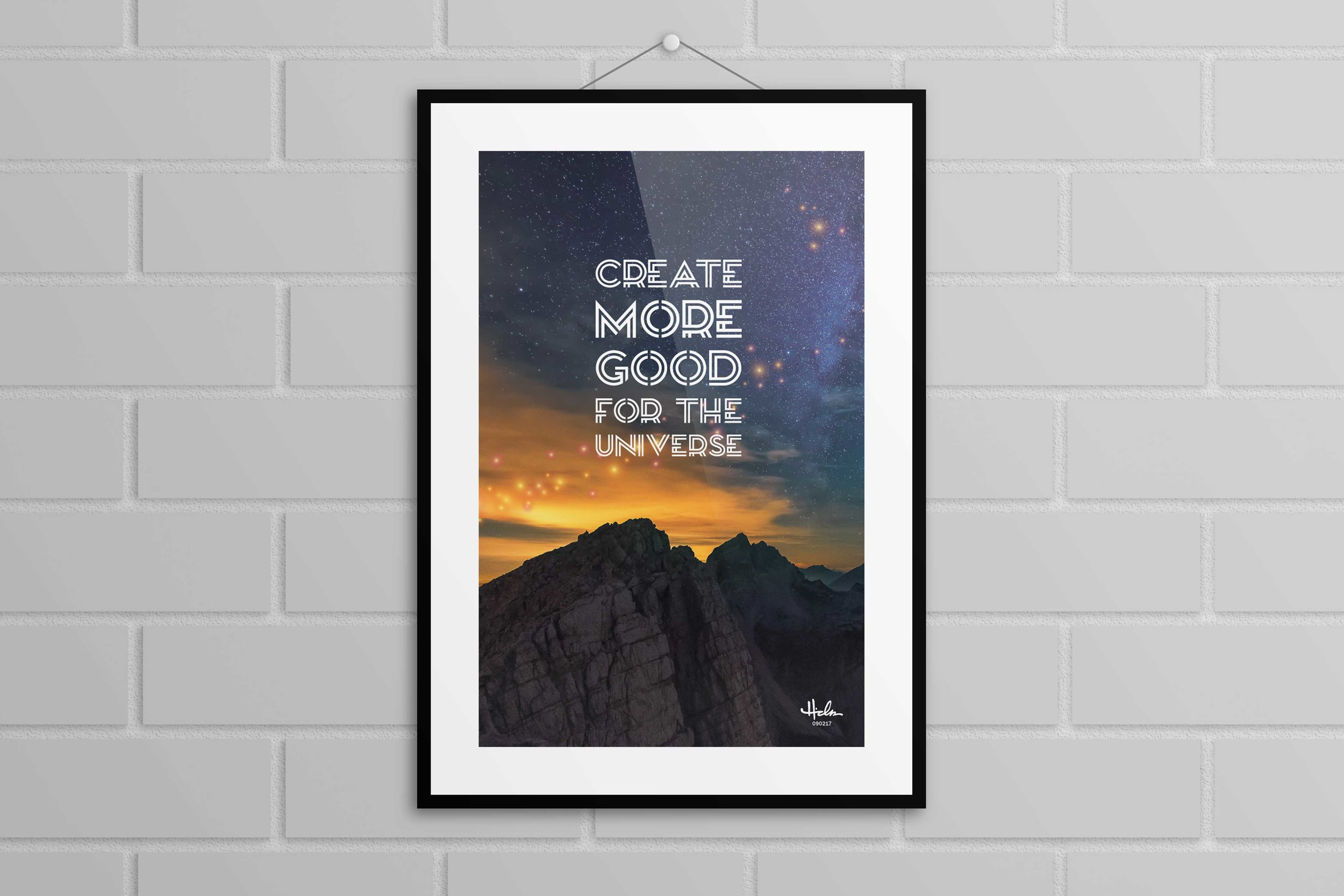 """""""Do More Good"""" Poster - Various sizes $20+"""