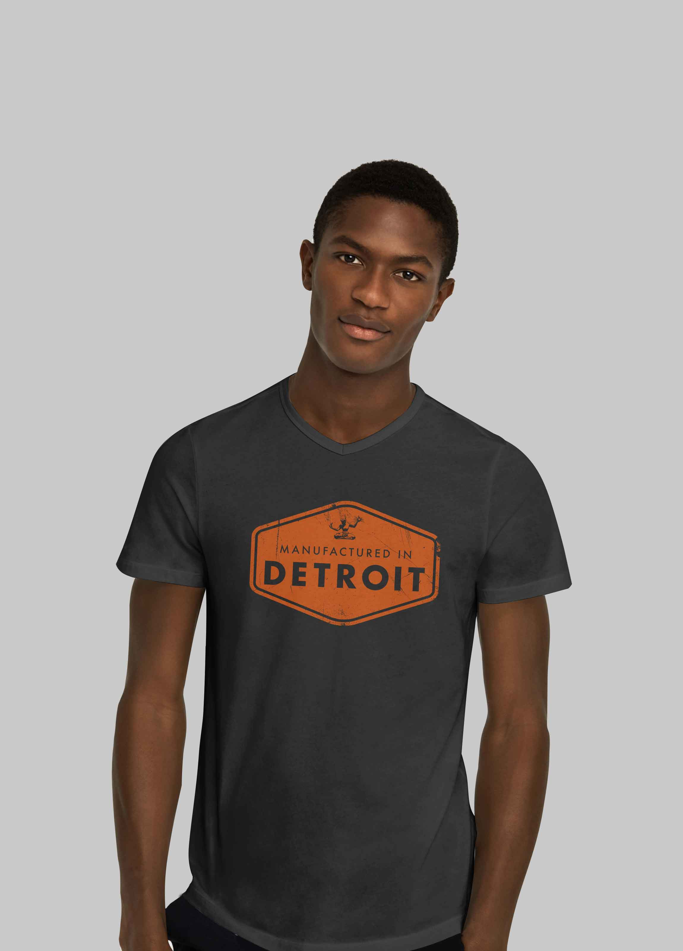"""""""Manufactured in Detroit"""" T-Shirt - $20"""