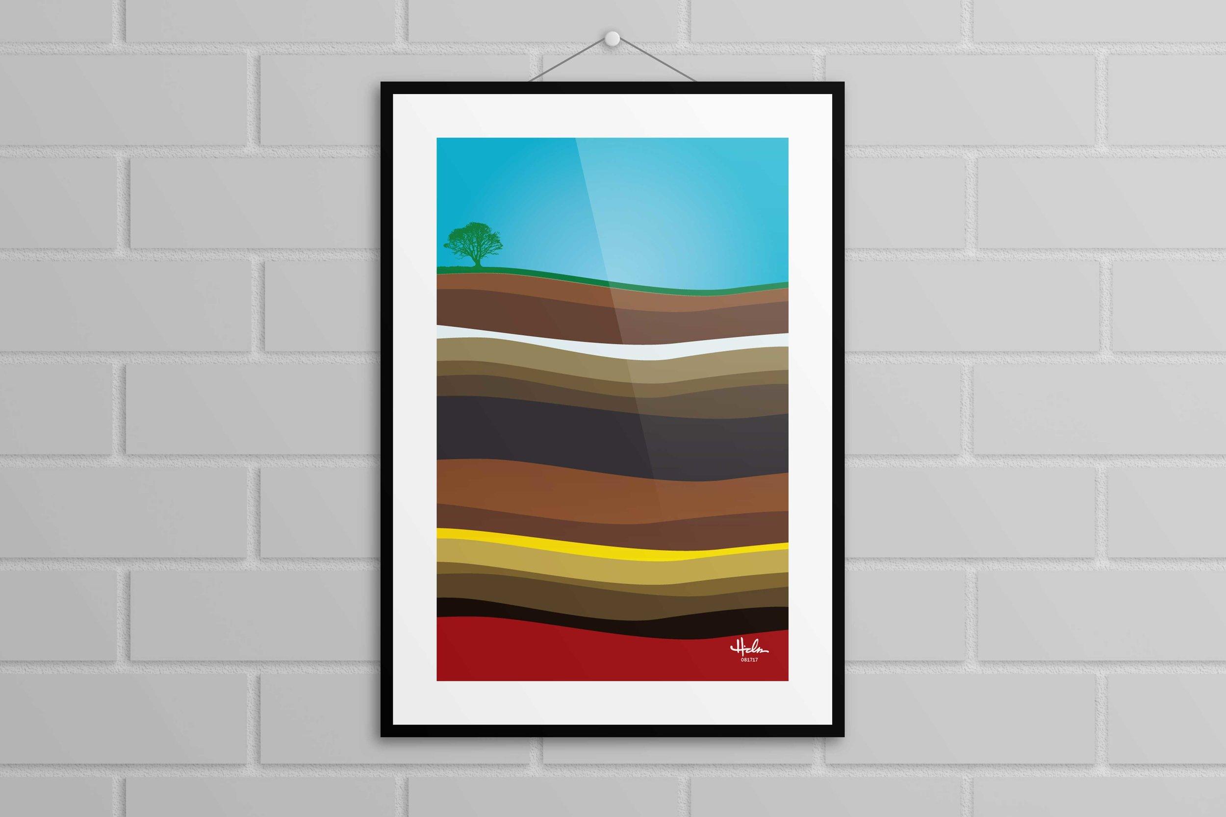 """Terra Firma"" Poster - Various sizes $20+"