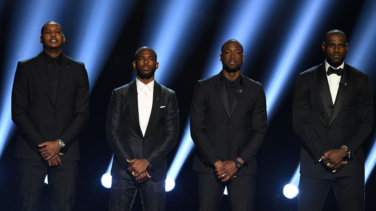 The ESPY's have been known as a place where sports history is made. Last year the NBA's best took a stand against police brutality. The experience is humbling for everyone in attendance to see the worlds best competitors and almost all of them can connect with the plight of this project.
