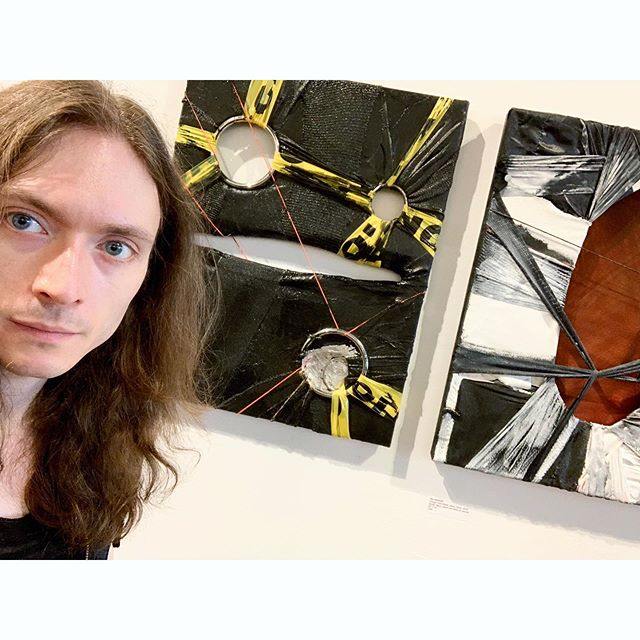 Alex Markwith, Plaxall Gallery, installation September 2019