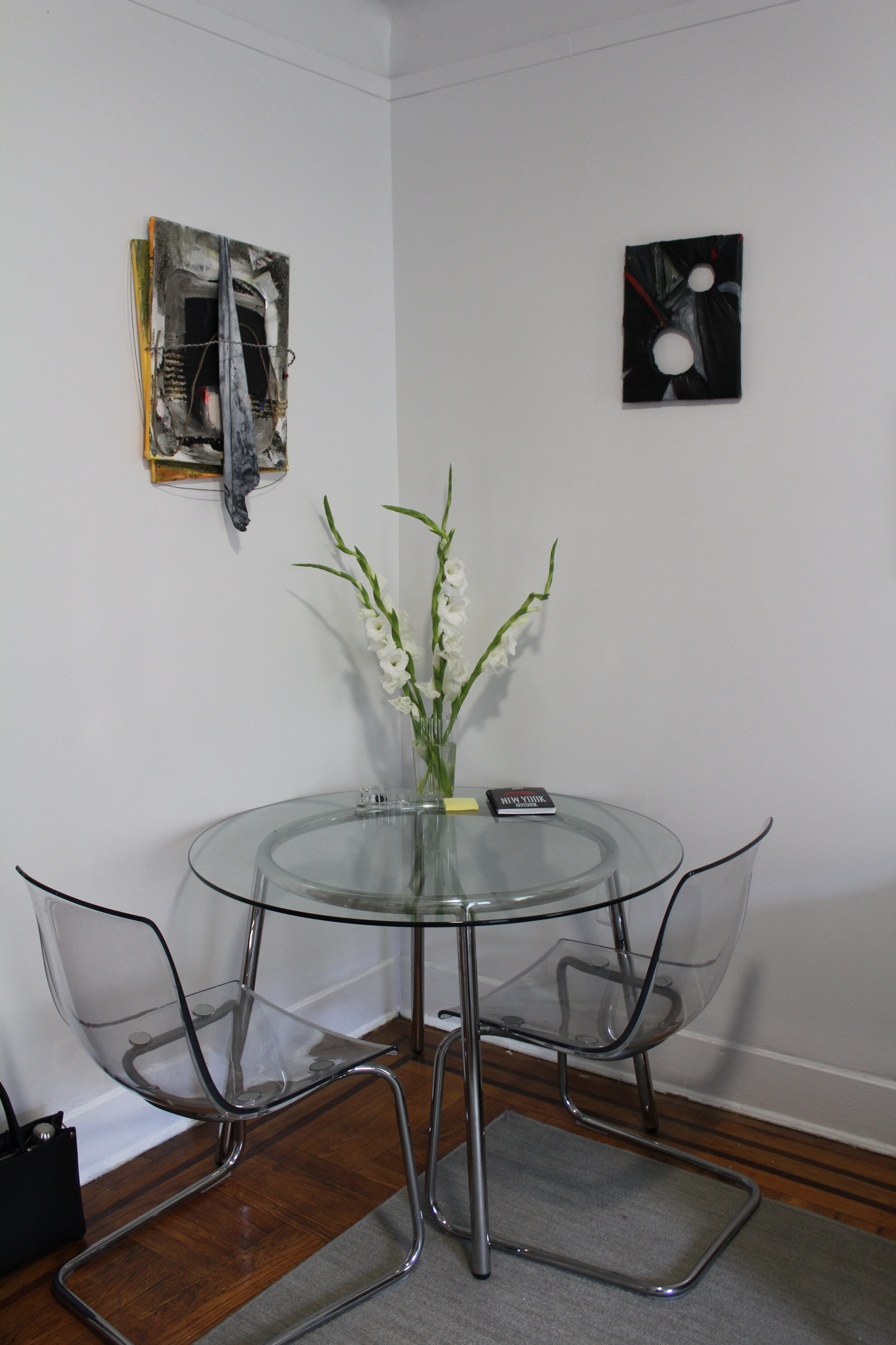 Alex-Markwith-apartment-installation-two-works