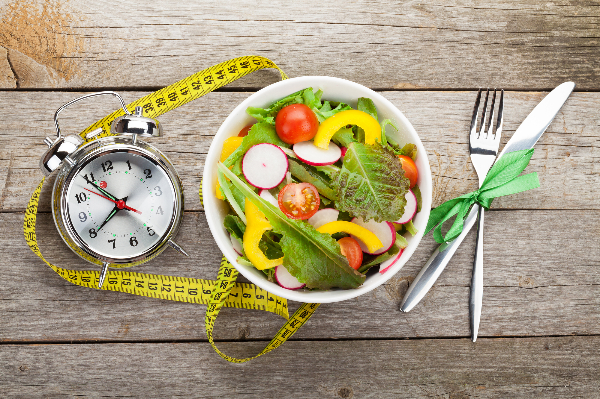Eating healthy food and maintaining an appropriate weight