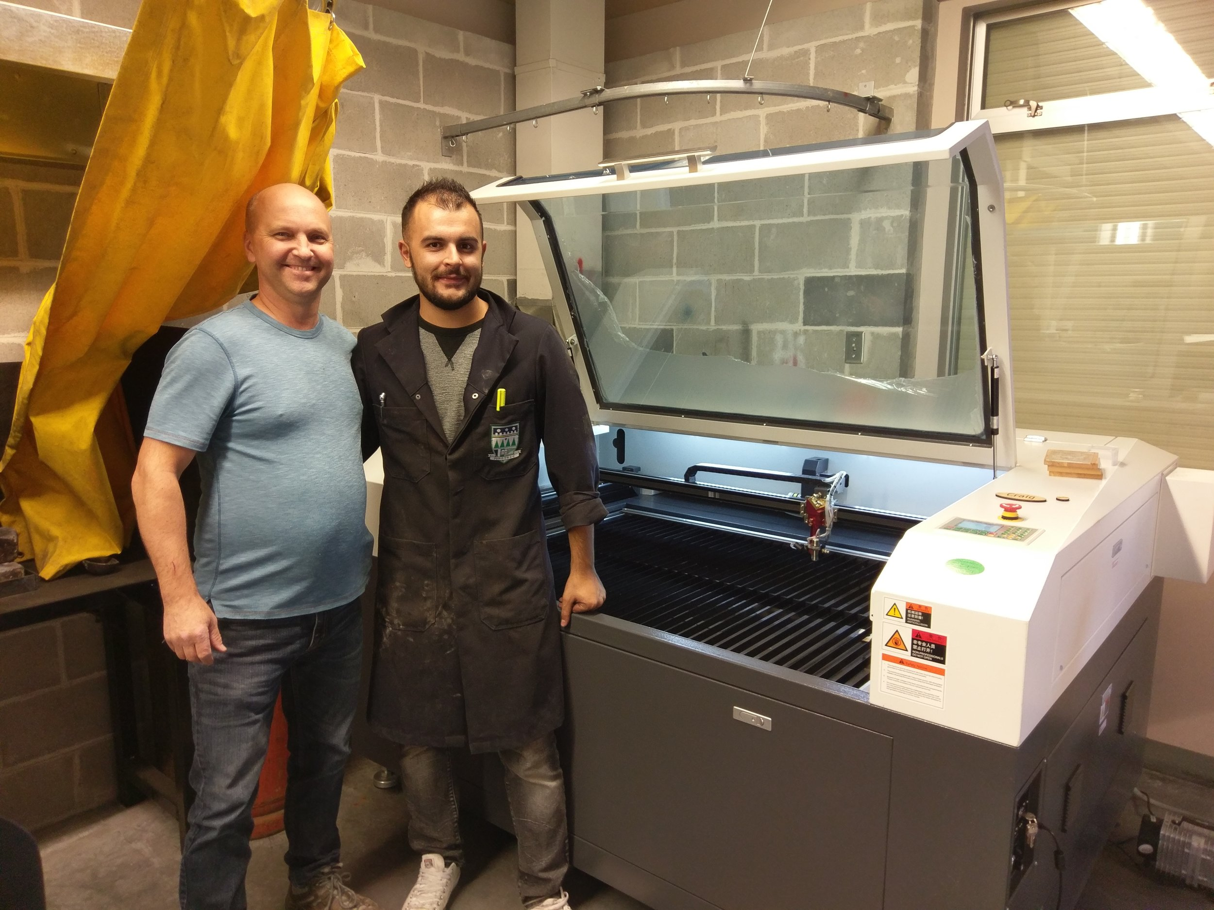 Pinetree secondary  - Machine: SP-13009S 100wattYear: 2017Business/Use: Teaching the next generation of students