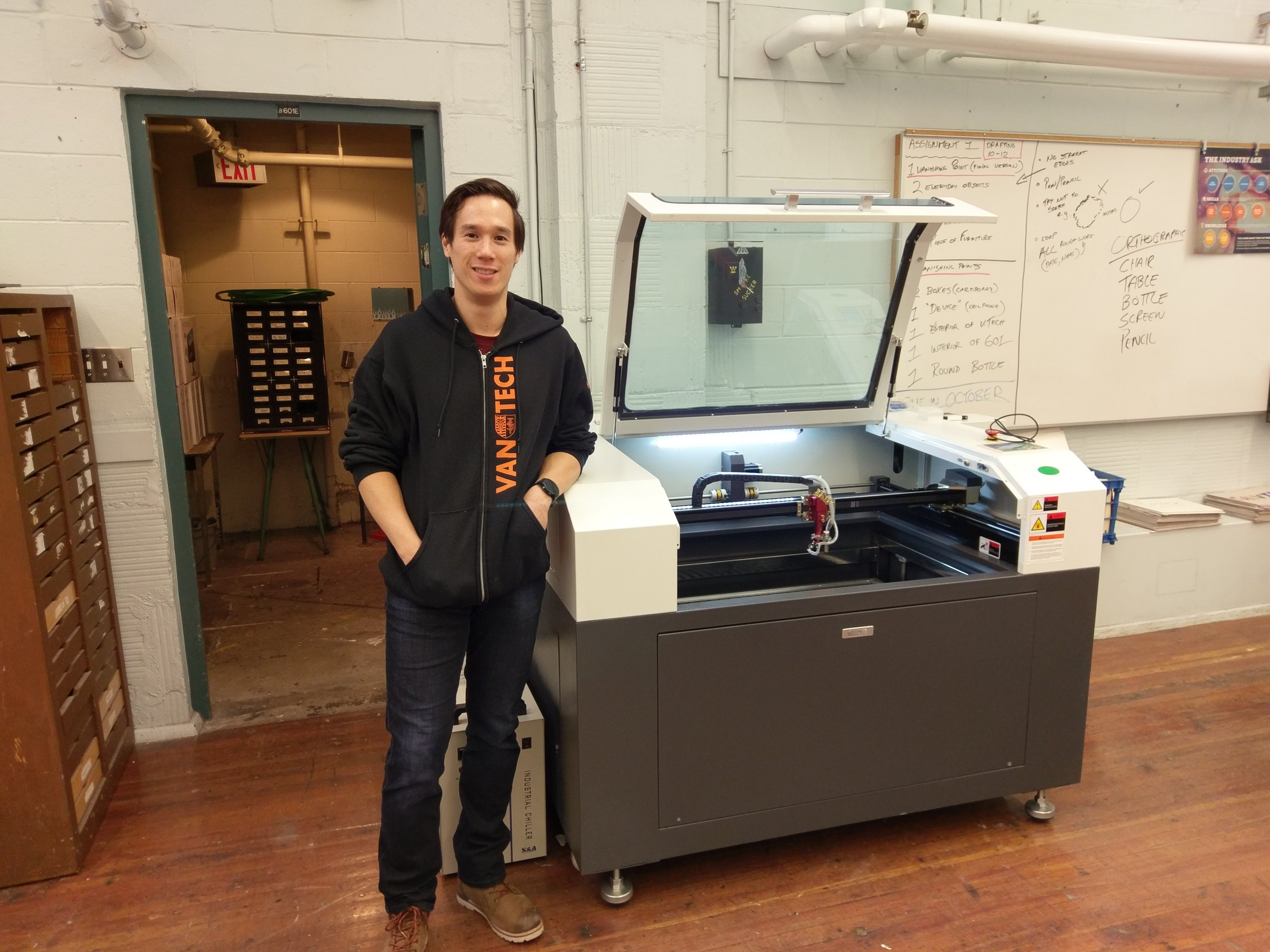 Vancouver Technical Secondary - Machine: SP-9006S 80wattYear: 2017/18Business/Use: Teaching the next generation of students