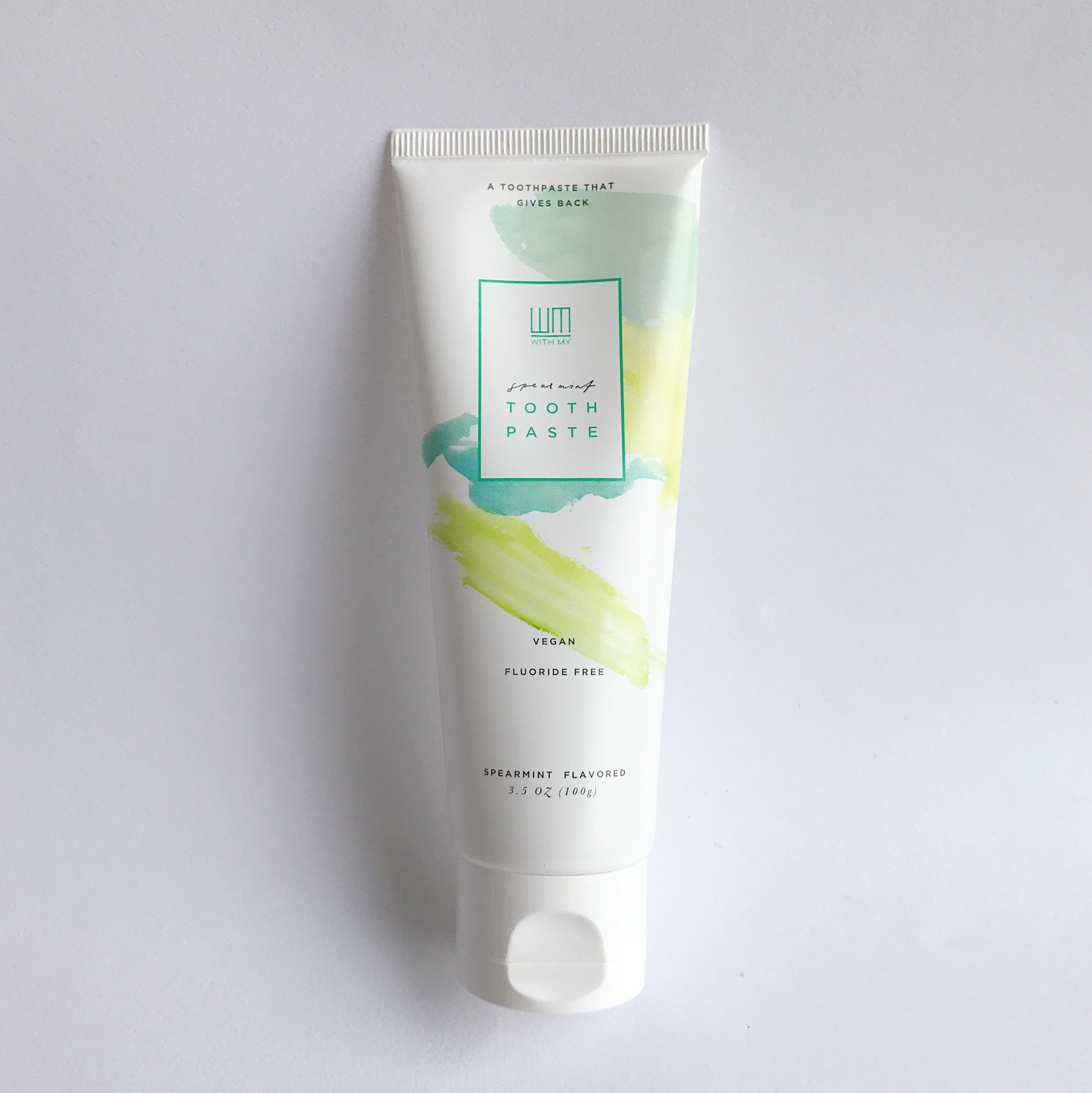 WITH MY spearmint toothpaste  3.4oz $8.50