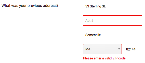 """Google's """"Compare"""" tool doesn't accept zip codes starting with a """"0""""... sorry New England."""