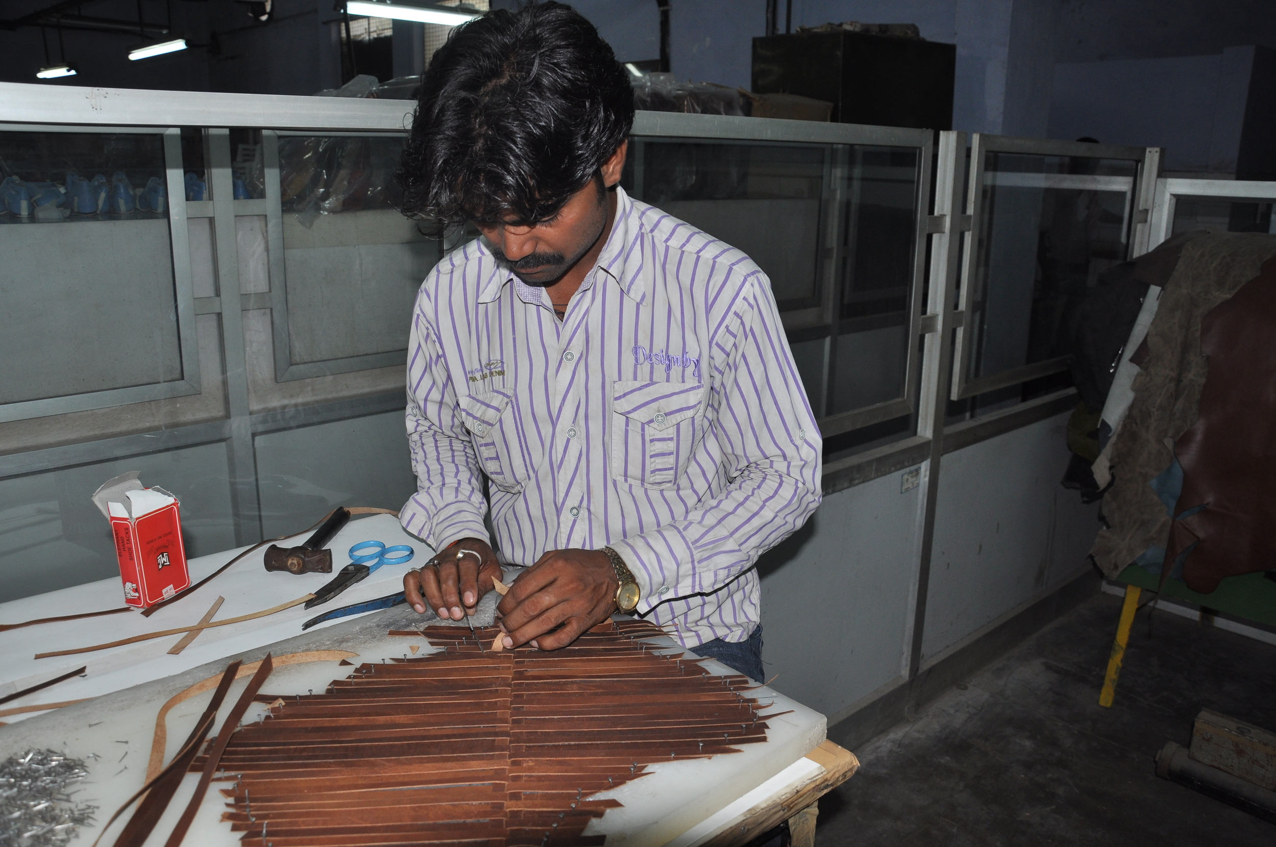 Meet Manoj, part of the accessories and bag sample development team.