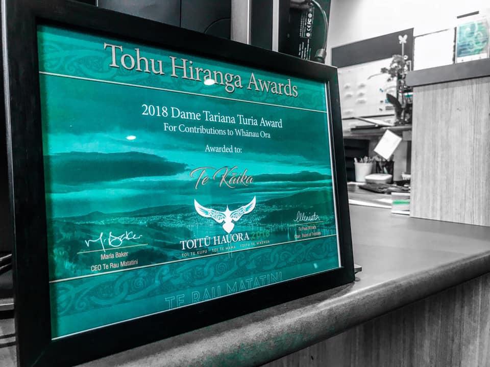 Dame Tariana Turia Award 2018