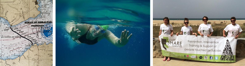 Frances Anderson Gibraltar Straits Swim