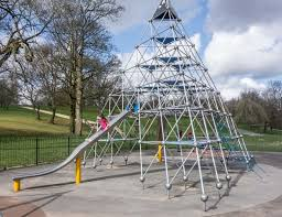 Here is an image of a climbing frame, the kind the children see and use in their local park