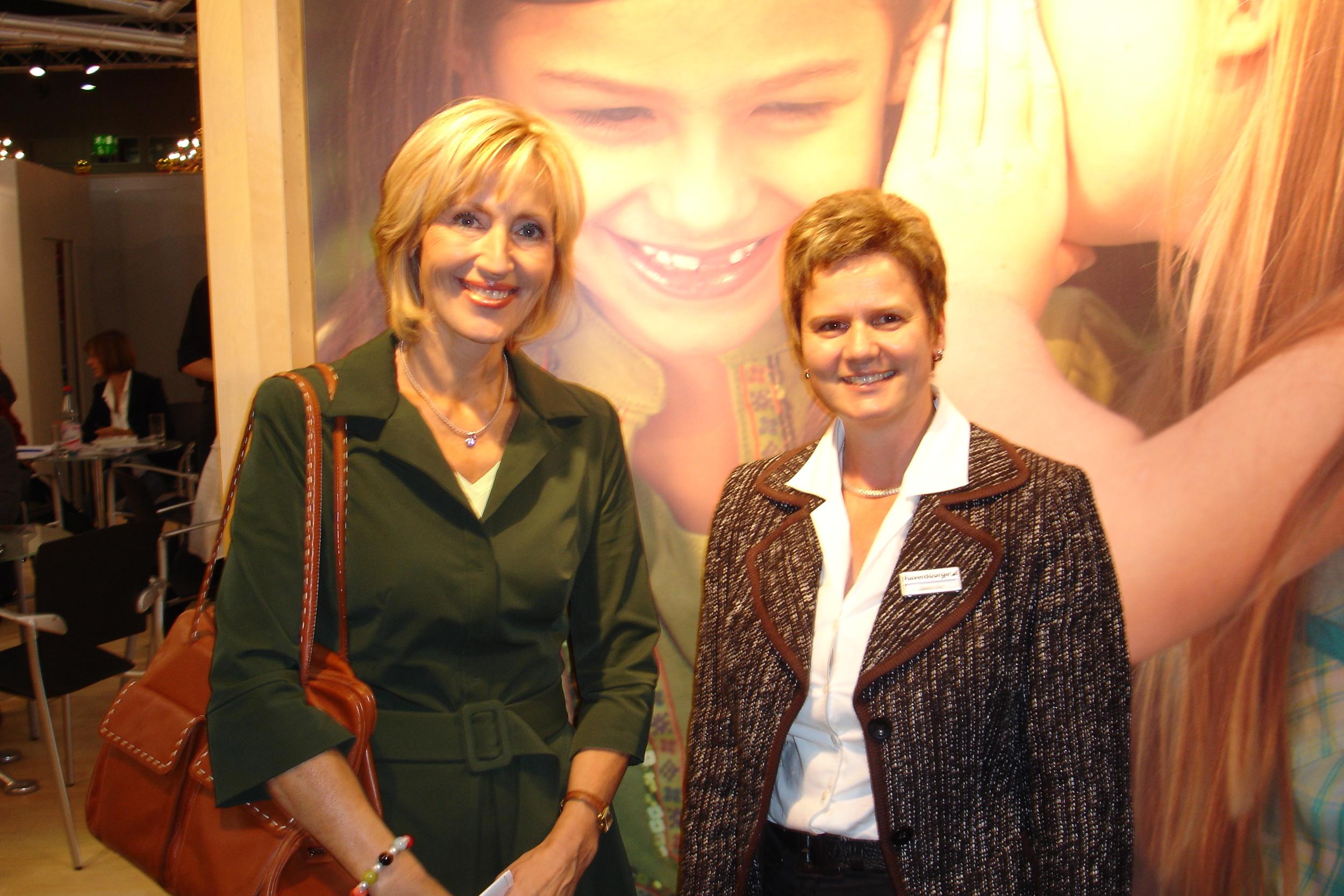 Projektbesprechung mit Petra Gerster, Moderatorin des heute-Journals