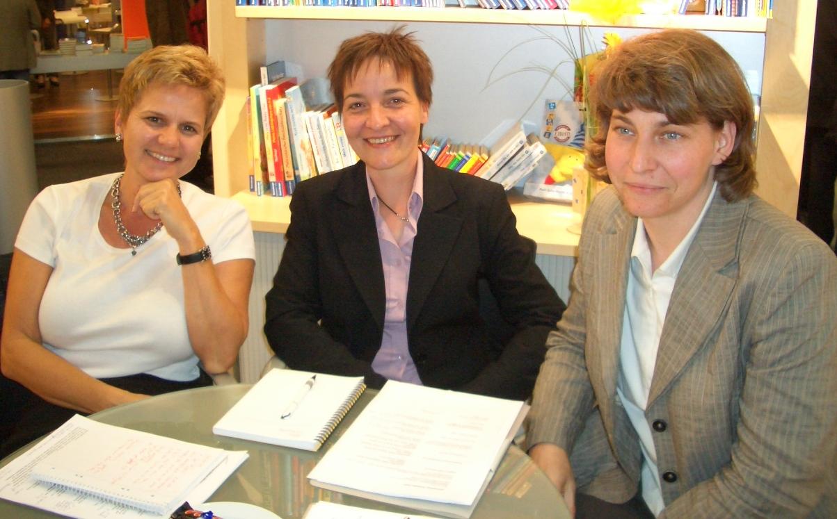 Projektbesprechung mit Claudia Fahlbusch aus meinem beruflichen Netzwerk