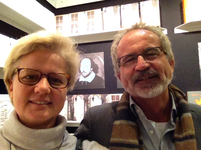 Mit Norbert Treuheit, Verleger des ars vivendi Verlags auf der Buchmesse 2015