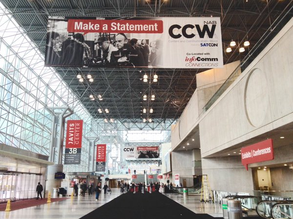 CCW 2015 Day 1, Javits Center, NYC