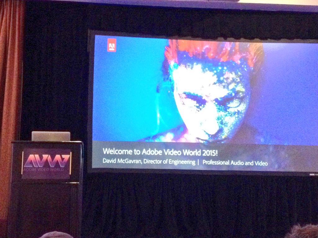 Adobe Video World Day 3