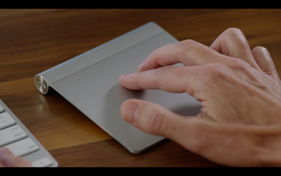 Gestural support for Apple Force Touch track pad