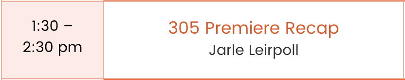 Go to  Jarle Leirpoll's bio