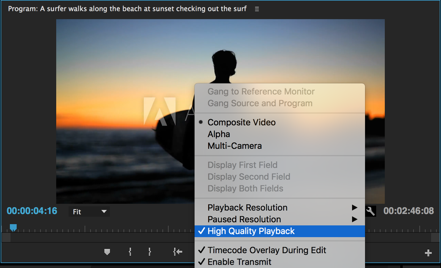 New High Quality Playback Feature
