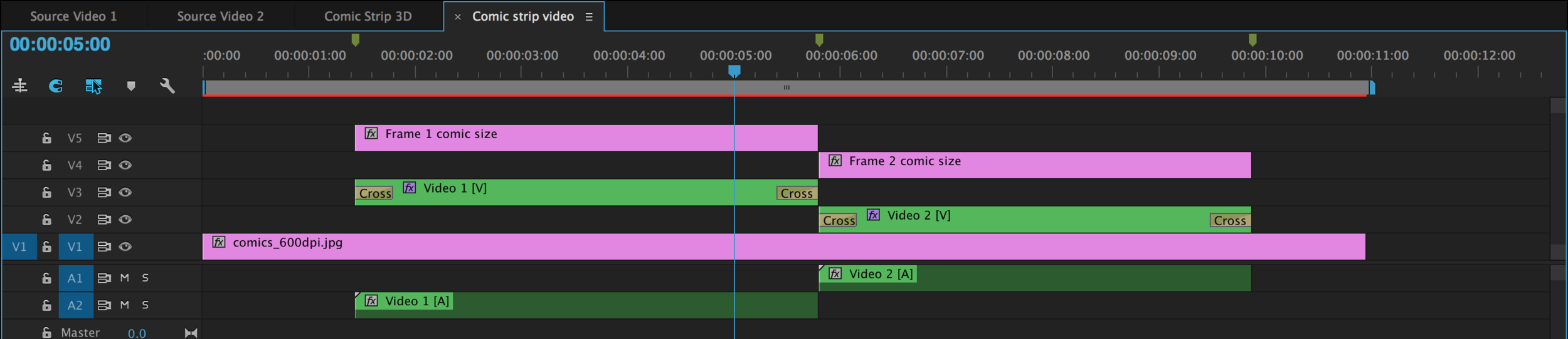 Learn how this 3D Comic Book template was created in Premiere Pro.  Download here .