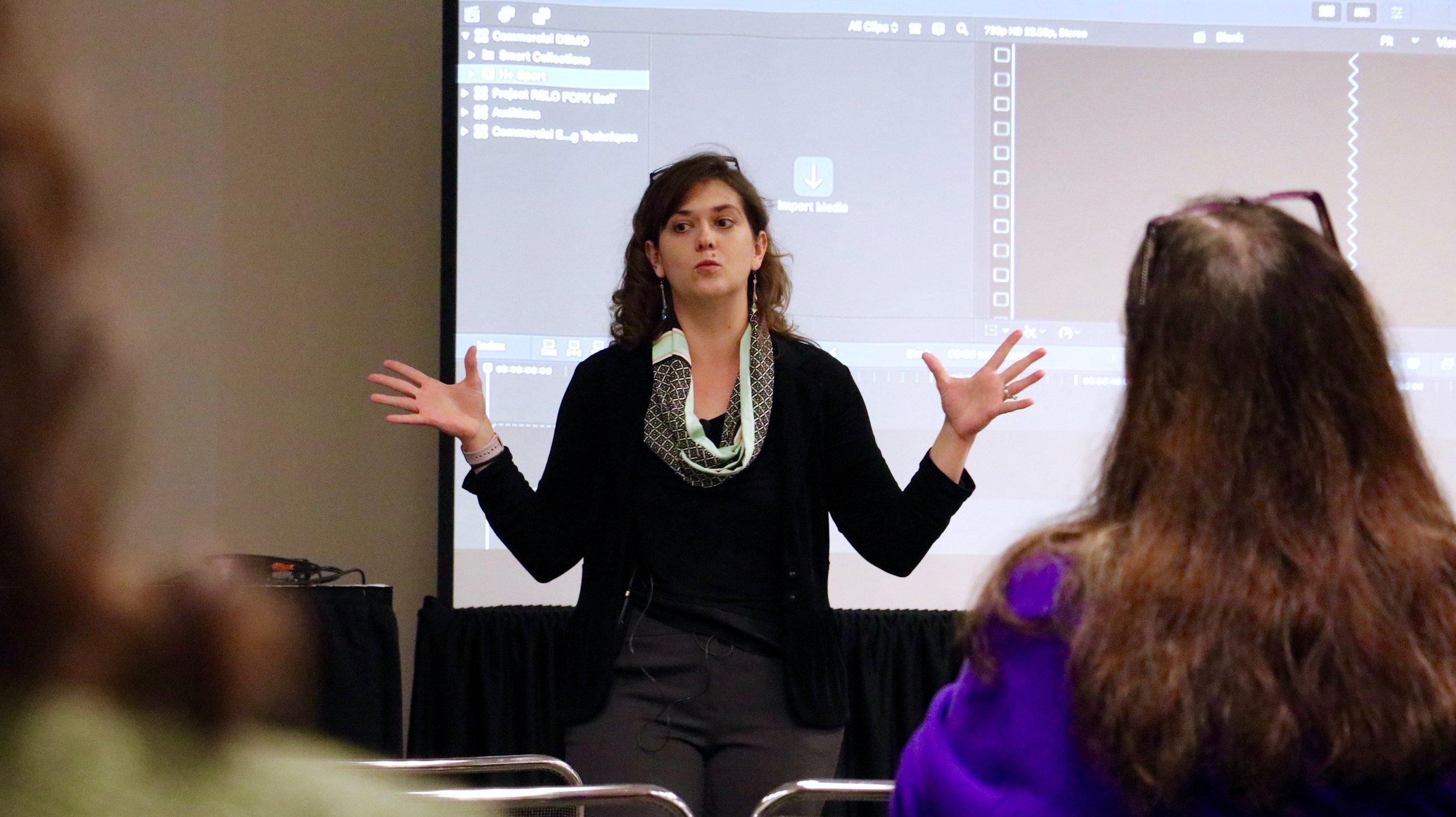 Ashley Kennedy , NY Post|Production Conference, NAB Show NY 2016. Photo by Paul Murphy.