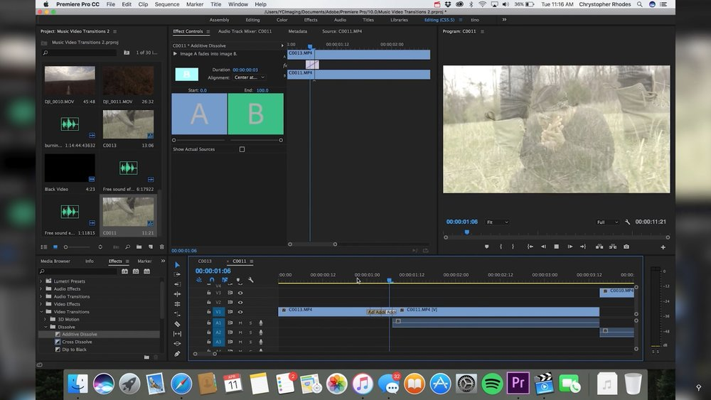 YCImaging: 5 Flash Transition Effects in Adobe Premiere Pro