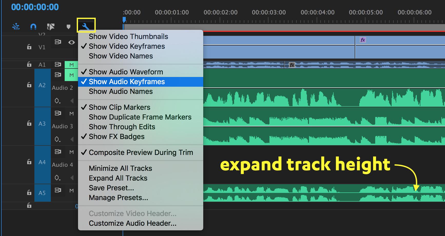 show-audio-keyframes-timeline-premiere-pro