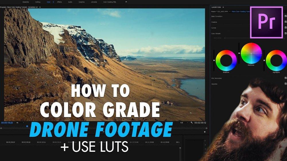 WhoIsMatt: How to Easily Color Grade DJI Mavic Pro Footage