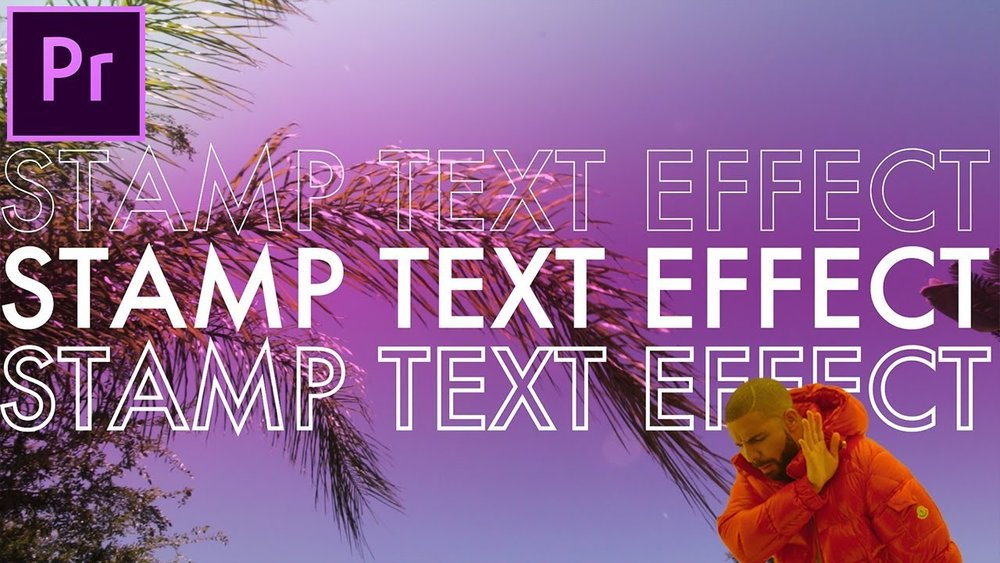 Justin Odisho: 3 Animated Stamp Text Effects in Premiere Pro