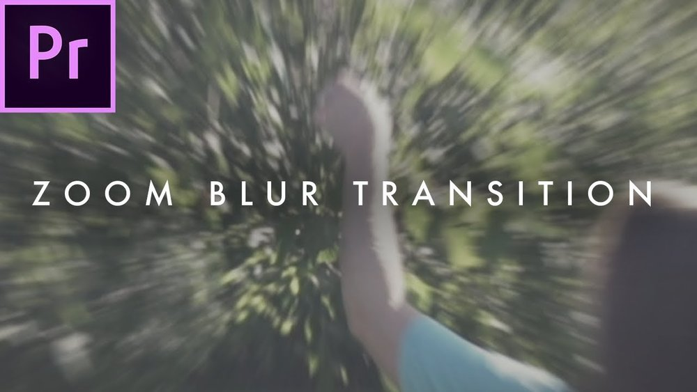 Austin Newman: How To Smooth Zoom Blur Transition Effect in Adobe