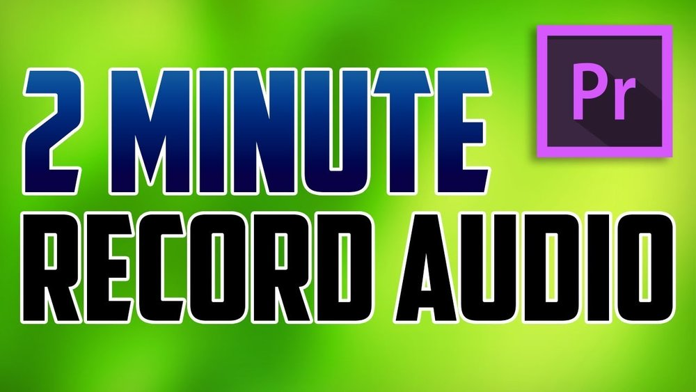 2 Minute Tutorials: How to Record Audio from Microphone in