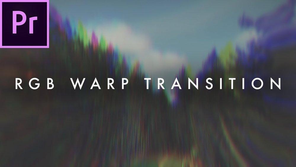 Austin Newman: RGB Warp Distortion Transition in Premiere Pro