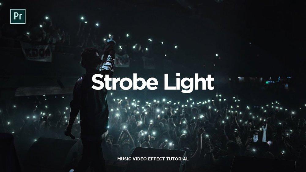 Steven Van Strobe Light Flicker Effect