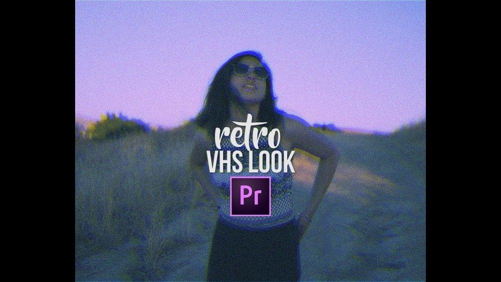FilmVentureStudios: VHS Retro Unique Color Grading Effects