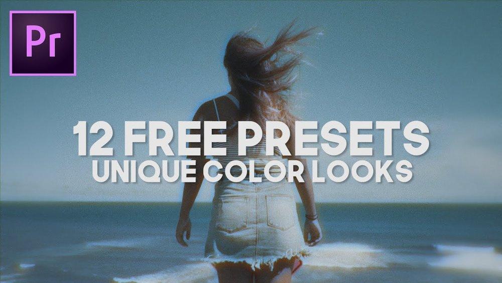 FilmVentureStudios: Free Preset Pack of Unique Looks for Premiere