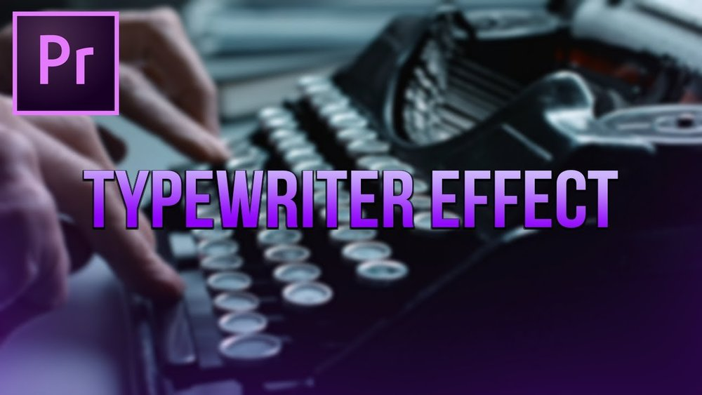 CasualSavage: Make a Typewriter Effect in Premiere Pro — Premiere Bro