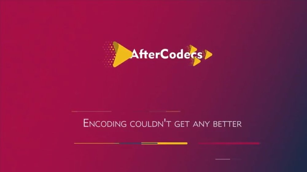 aescripts + aeplugins: AfterCodecs for Premiere Pro, Media