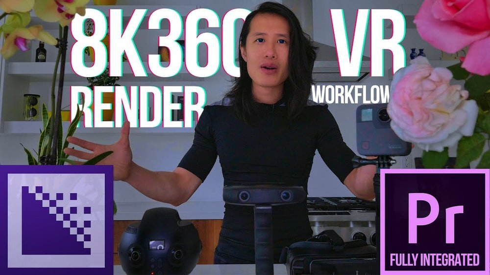 CreatorUp!: 8K 360VR Direct H264 & H265 Render from Adobe Premiere