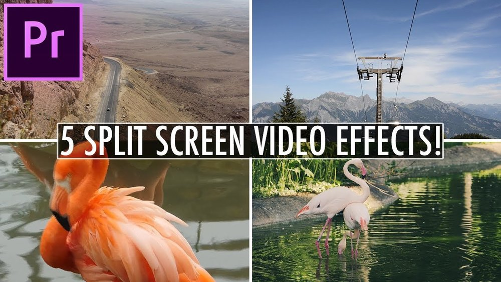 Justin Odisho: 5 Awesome Split Screen Video Effects in Adobe
