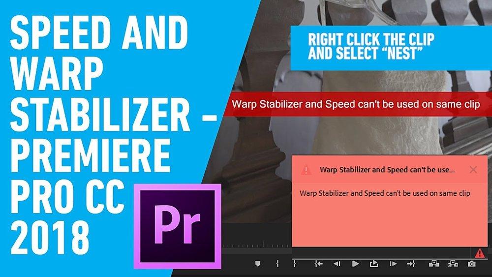 VłÐΞФ ▷ MΛЯК: How To Use Speed and Warp Stabilizer on Same
