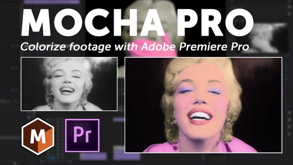 Boris FX: How to Colorize B&W Footage: Mocha Pro + Adobe