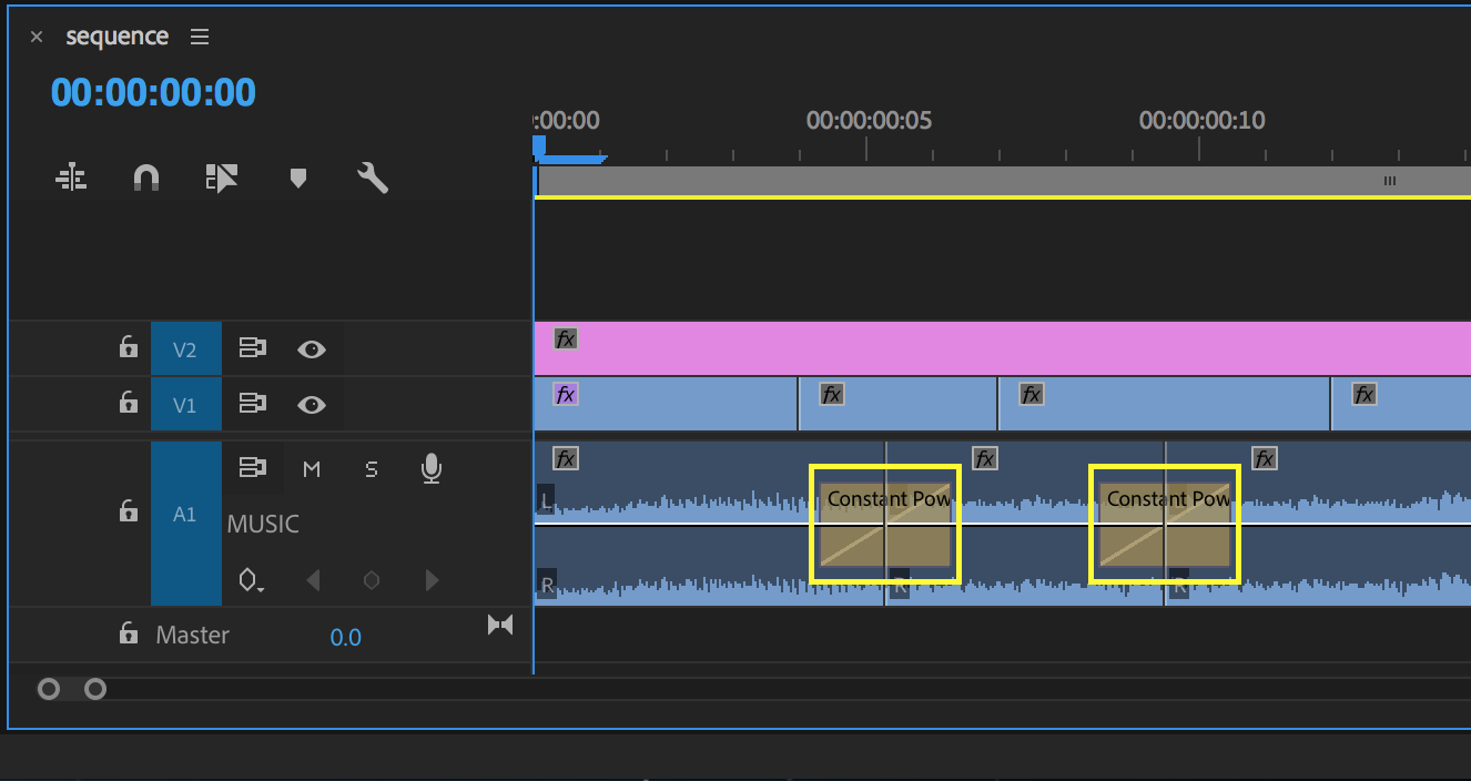 Add short Crossfades to smooth audio cuts