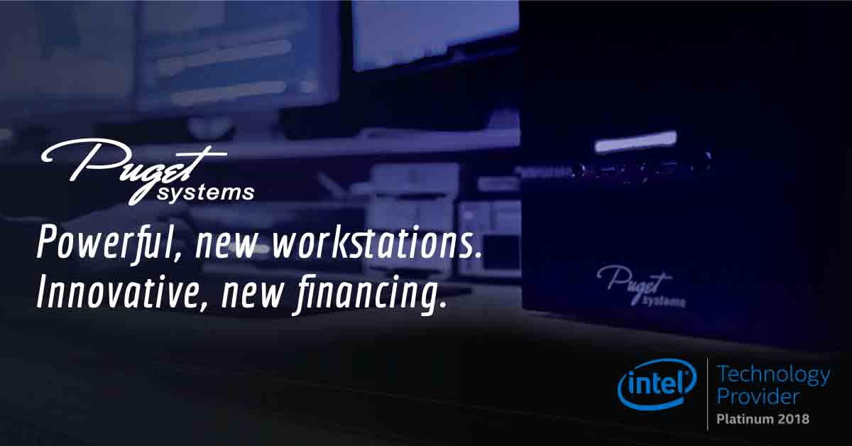 Puget Systems - If you are looking for further guidance on updating your PC, we highly recommend our computer partner, Puget Systems. They are America's number one computer builder and they offer customized workstations for Premiere Pro. Check out their extensive library of free Premiere Pro resources and benchmarks.