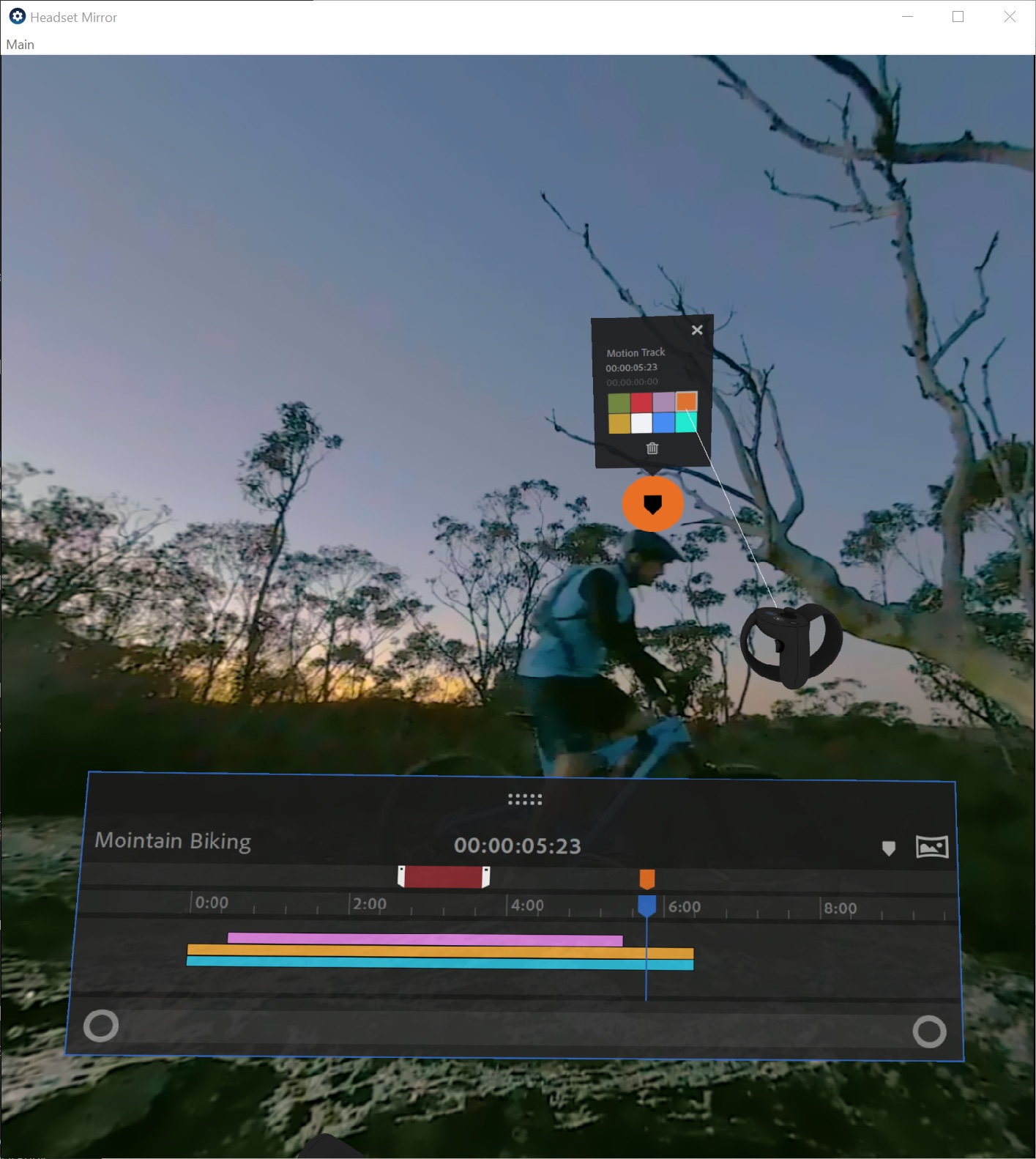 New Spatial Markers let you review 180 and 360 footage more efficiently in the Adobe Immersive Environment. Place spatial markers on your media while in your headset for reference when you return to the desktop Timeline. —Adobe