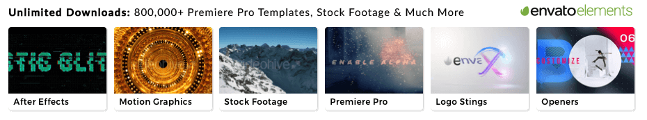 Free Premiere Pro Edit Template by Motion Array — Premiere Bro